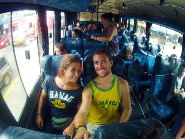 Autobus in Costa Rica