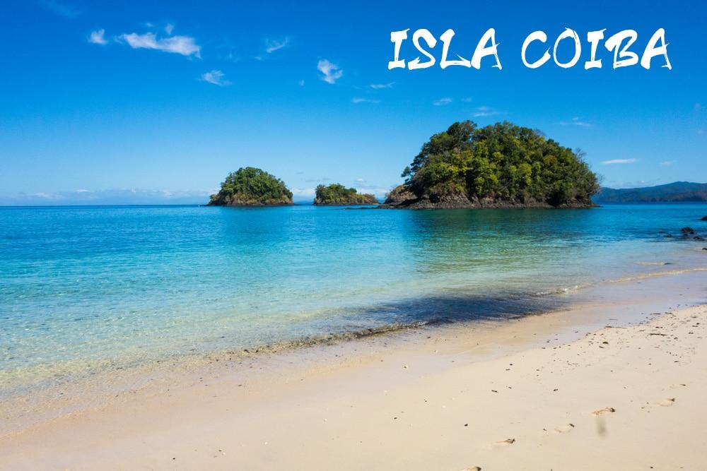 Spiaggia nel parco nazionale Coiba