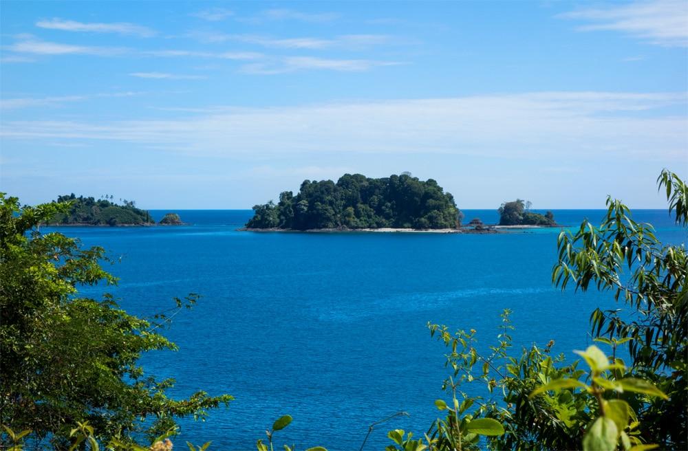 Panorama da Isla Coiba