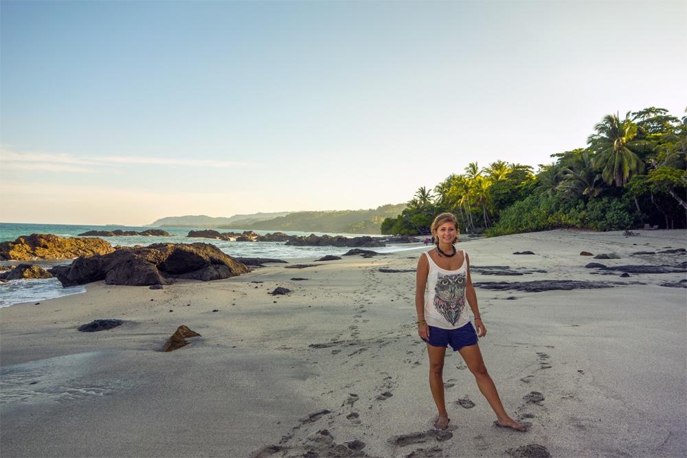 Spiaggia verso Playa Grande