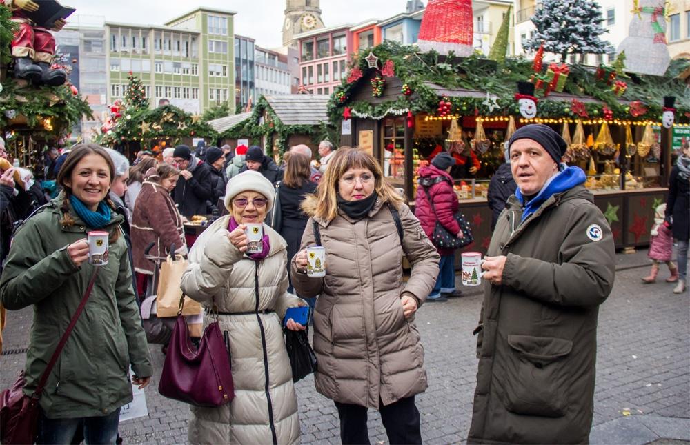 Weihnachtsmarkt, mercatini di Natale a Stoccarda