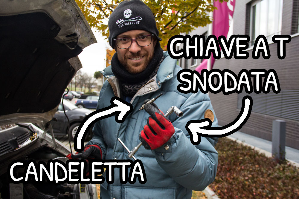 Chiave a T snodata
