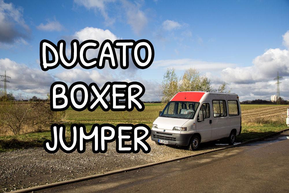 Fiat Ducato, Peugeot Boxer e Citroen Jumper