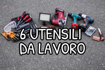 6 utensili da lavoro