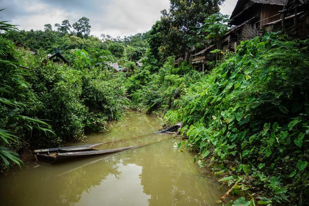 Mae Hong Son al confine tra Thailandia e Birmania