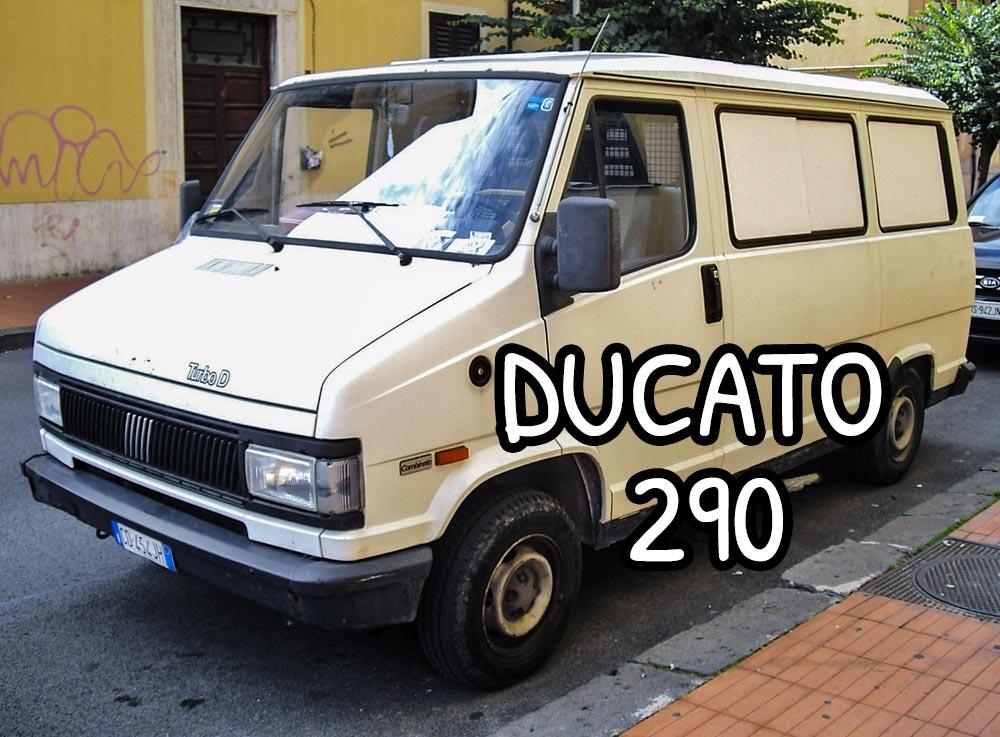 Furgone Fiat Ducato 290