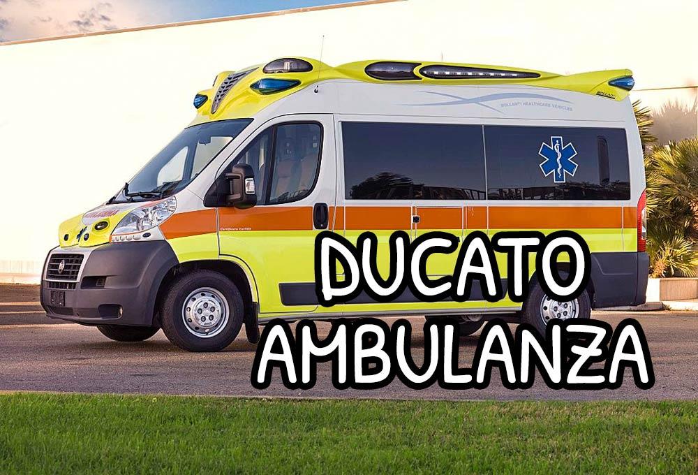 Ambulanza su base di Fiat Ducato x250