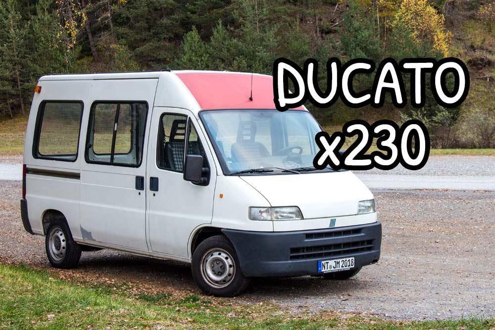 Furgone Fiat Ducato x230, il nostro piccolino :)