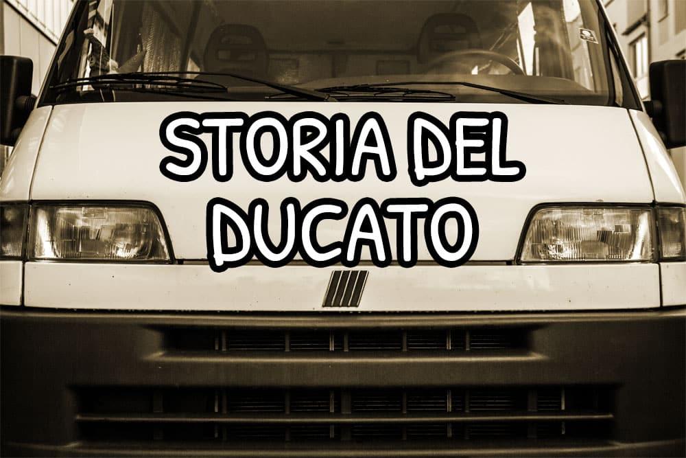 Storia e modelli del furgone Fiat Ducato