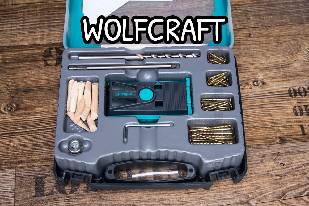 Kit pocket hole della Wolfcraft