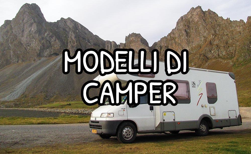Modelli di camper