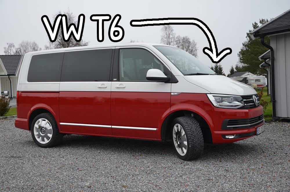 Furgoncino Volkswagen Transporter T6