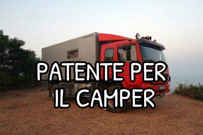 Patente per camper