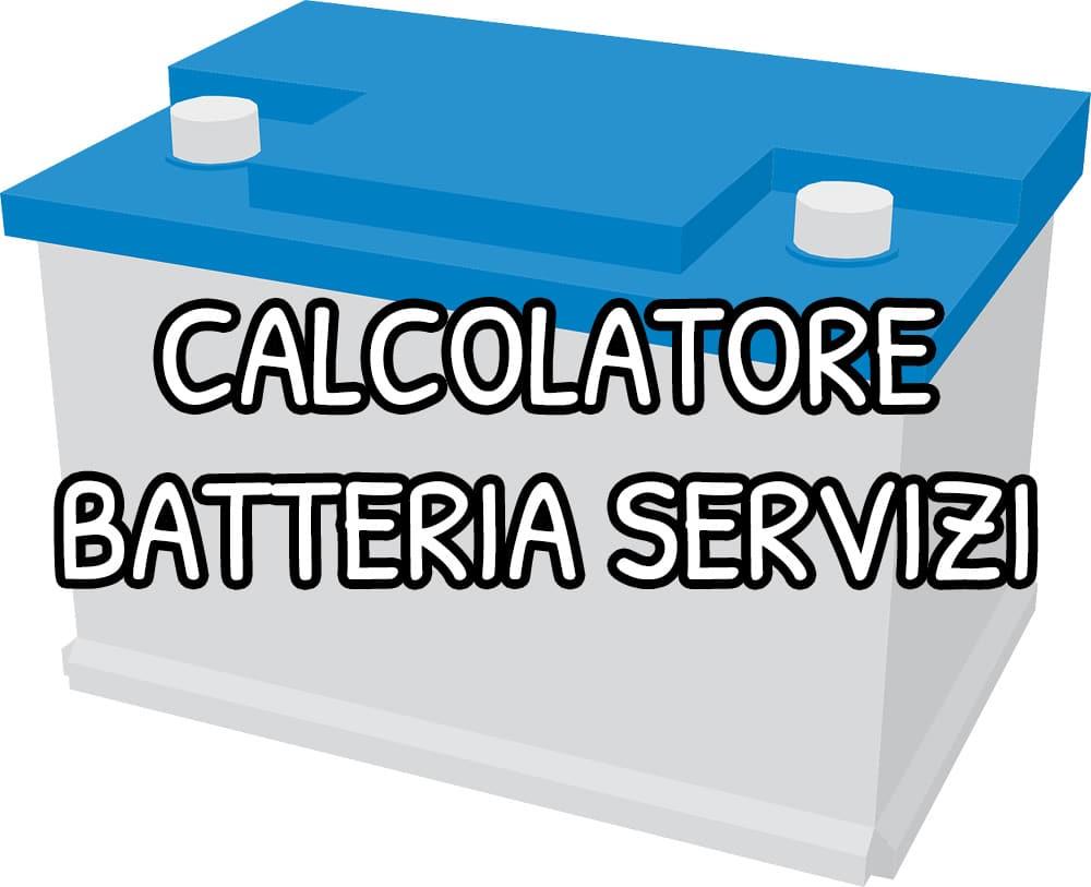 Calcolatore batteria servizi